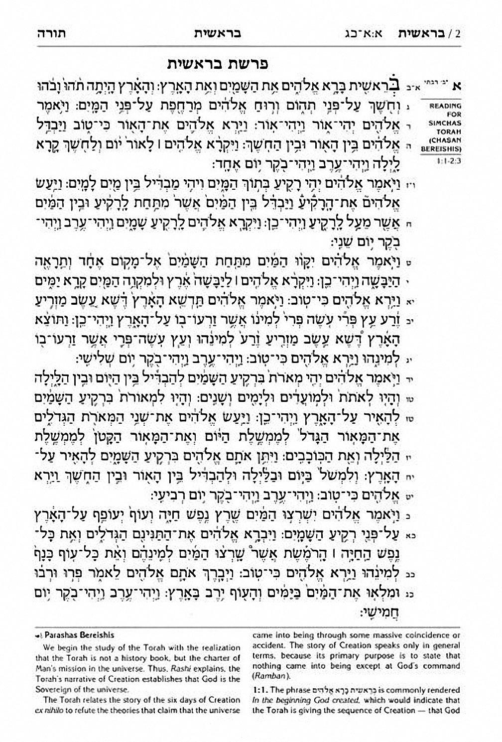 The Hebrew English Tanach Stone Edition